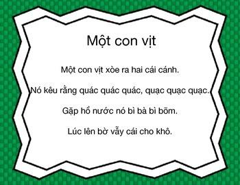Mot con vit: A Vietnamese Children's Song