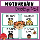 Mothúcháin as Gaeilge (Emotions Posters in Irish)