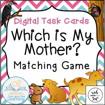 Mother Baby Digital Matching Games