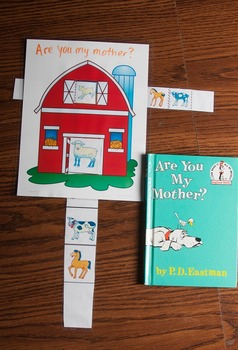 Mother Baby Matching Activities relating to Are You My Mother? by PD Eastman