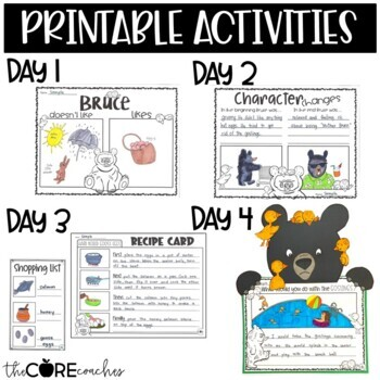 Mother Bruce Lesson Plans and Activities