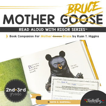 Mother Bruce Read Aloud Set | Character Analysis Mother Bruce Reading  Printables