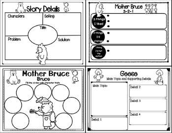 Mother Bruce (Story Companion with Nonfiction Activities included)