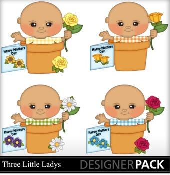 Mother Day Baby Boys clipart