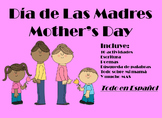Mother Day's Activities Actividades De El Dia de Las Madres