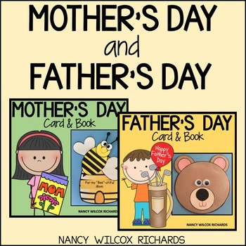 Mother and Father's Day Cards and Books BUNDLE