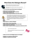 Mother Fletcher Character Dialogue Worksheet Reading Street Grade 6 Skill Lesson