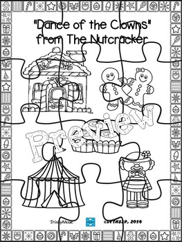Mother Ginger and the Clowns (from The Nutcracker) Puzzles