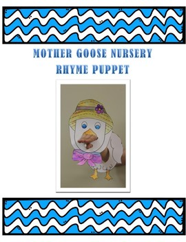 Mother Goose Nursery Rhyme Puppet- craft