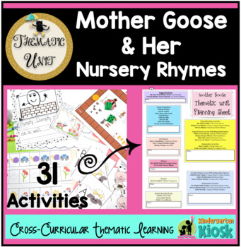 Mother goose teaching resources teachers pay teachers mother goose nursery rhymes thematic unit mother goose nursery rhymes thematic unit fandeluxe Gallery