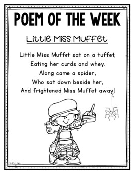 Mother Goose Poem of the Week