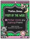 Mother Goose Poem of the Week