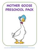 Mother Goose Preschool Activities Pack