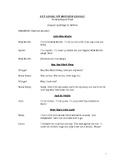 Mother Goose Readers Theatre Script