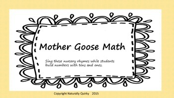 Mother Goose Rhyme PLACE VALUE