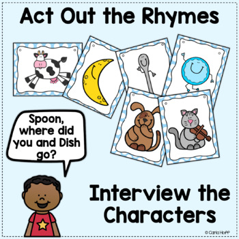 Mother Goose Nursery Rhymes Activities - Oral and Written Language