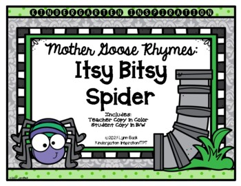 Mother Goose Rhymes: Itsy Bitsy Spider
