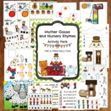 Mother Goose and Nursery Rhyme Activities for Preschool, Pre-K and Tots