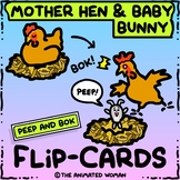 Mother Hen & Baby Bunny FLIP-CARDS - Animation basics!