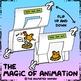 Mother Hen & Baby Bunny FLIP-CARDS - Animation basics!