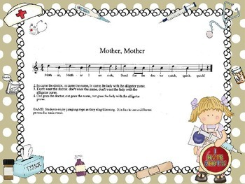 """Mother, Mother (Lady W/ The Alligator Purse) - Intro. to Solfa """"do"""" (PPT Ed.)"""