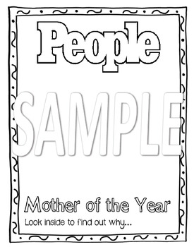 Mother Of The Year - People Ad - Writing Activity
