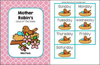 Mother Robin's Days of the Week Pack