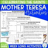 Mother Teresa Activities for Primary Grades