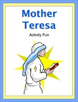 Mother Teresa Activity Fun