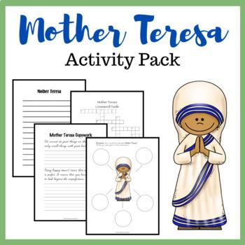Mother Teresa Activity Pack