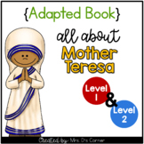 Mother Teresa Adapted Book [Set of 2] | Famous Women in History