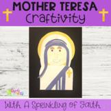 Mother Teresa Craftivity