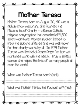 Mother Teresa - Find the Evidence and Bio