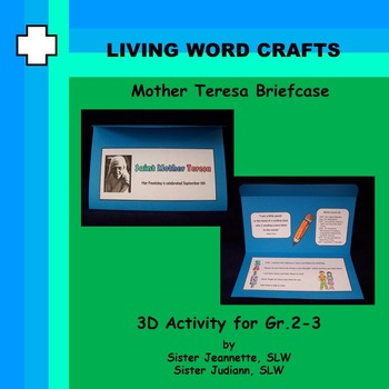 Mother Teresa briefcase for Grades 2 & 3