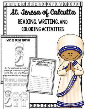 Mother Teresea / Saint Teresa of Calcutta