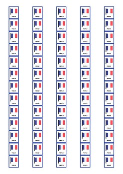 Mother Tongue Spine Labels: French - Avery A4 L7651