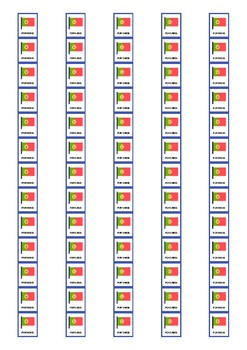 Mother Tongue Spine Labels: Portugese - Avery A4 L7651