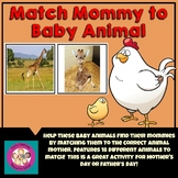 Mother and Baby Animal Matching Game