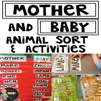 Mother and Baby Animal Sort