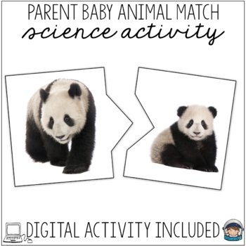 Mother and Baby Animals Puzzles Self Correcting (1-20) Real Photographs