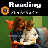 Mother and Child Reading Stock Photo #262