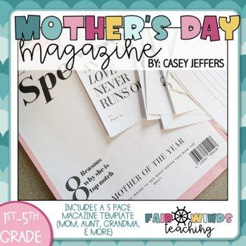 Mother of the Year Magazine (Mother's Day) Step-Mom, Grandma & Aunt too