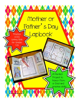 Mother or Father's Day Lapbook Writing Project