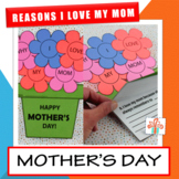 10 Reasons Why I Love My Mom  / Mum Booklet - Mother's Day Flowerpot Craft