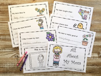 Mother's Day All About My Mom Printable Book