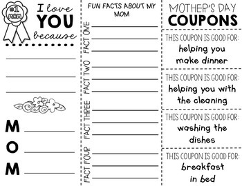 Mother's Day Activity (Editable)
