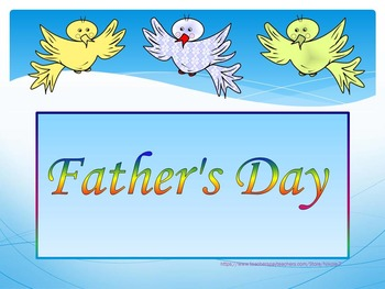 Editable Template - Birds - Mother's Day - Father's Day