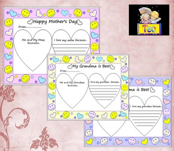 Mother's Day - Poster Activity - Personal or commercial use