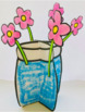 Mother's Day Craft  3D Jar of Flowers