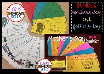 Mother's Day AND Father's Day Booklet BUNDLE
